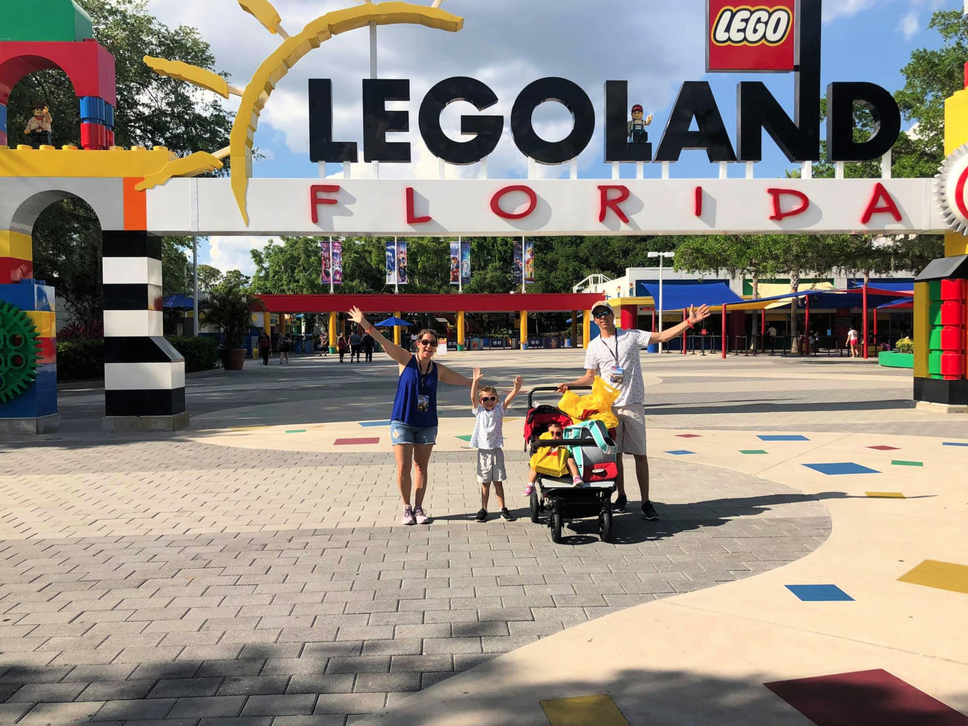 LEGOLAND Florida family visiting the park