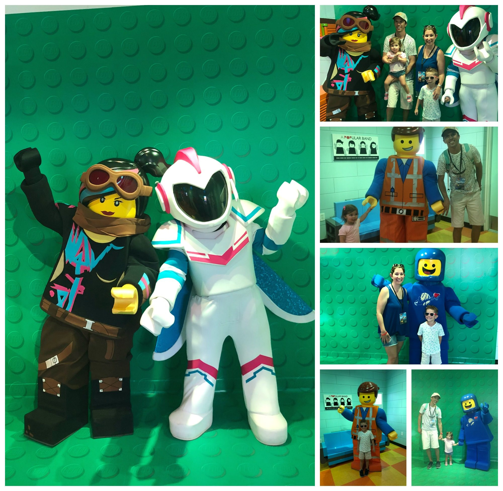 The LEGO MOVIE World LEGO Characters