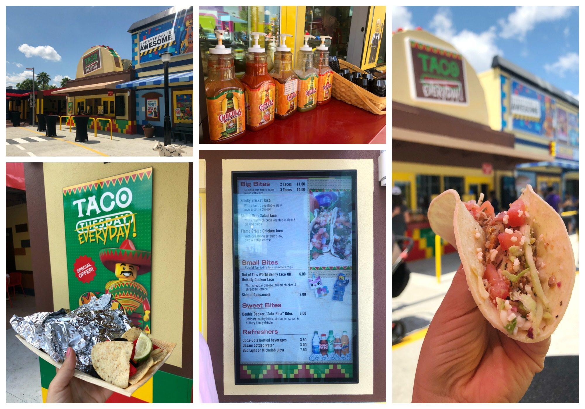 The LEGO Movie World - Taco Everyday Restaurant
