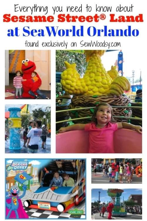 Sesame Street Land at SeaWorld Orlando