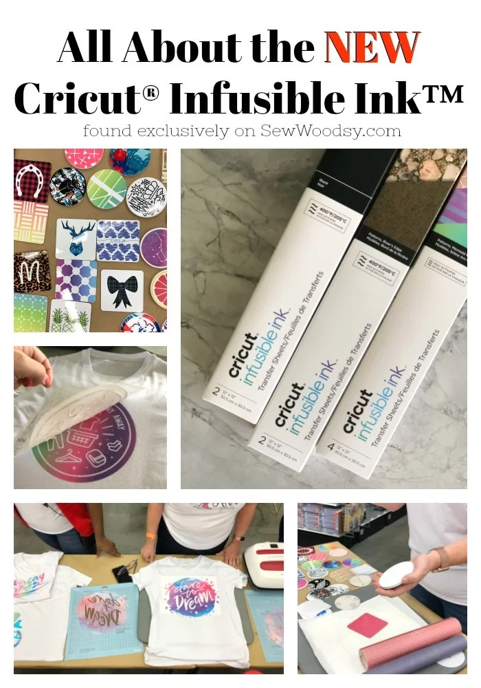 All About the New Cricut® Infusible Ink™
