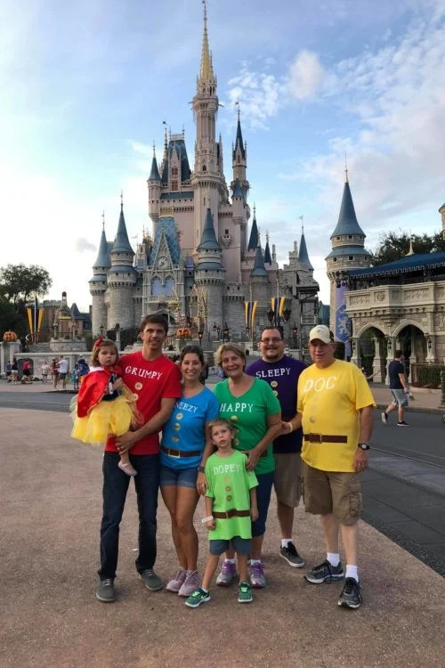 Mickey's Not-So-Scary-Snow White and the Dwarfs Group Costumes