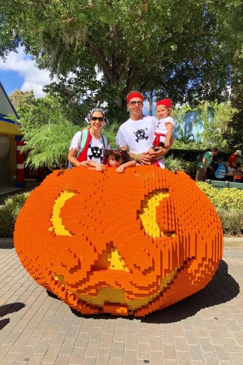 LEGOLAND FL LEGO Pumpkin