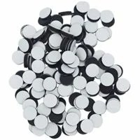 "Haobase Magnets 1/2"" Round Disc with Adhesive Backing 270 Pcs"