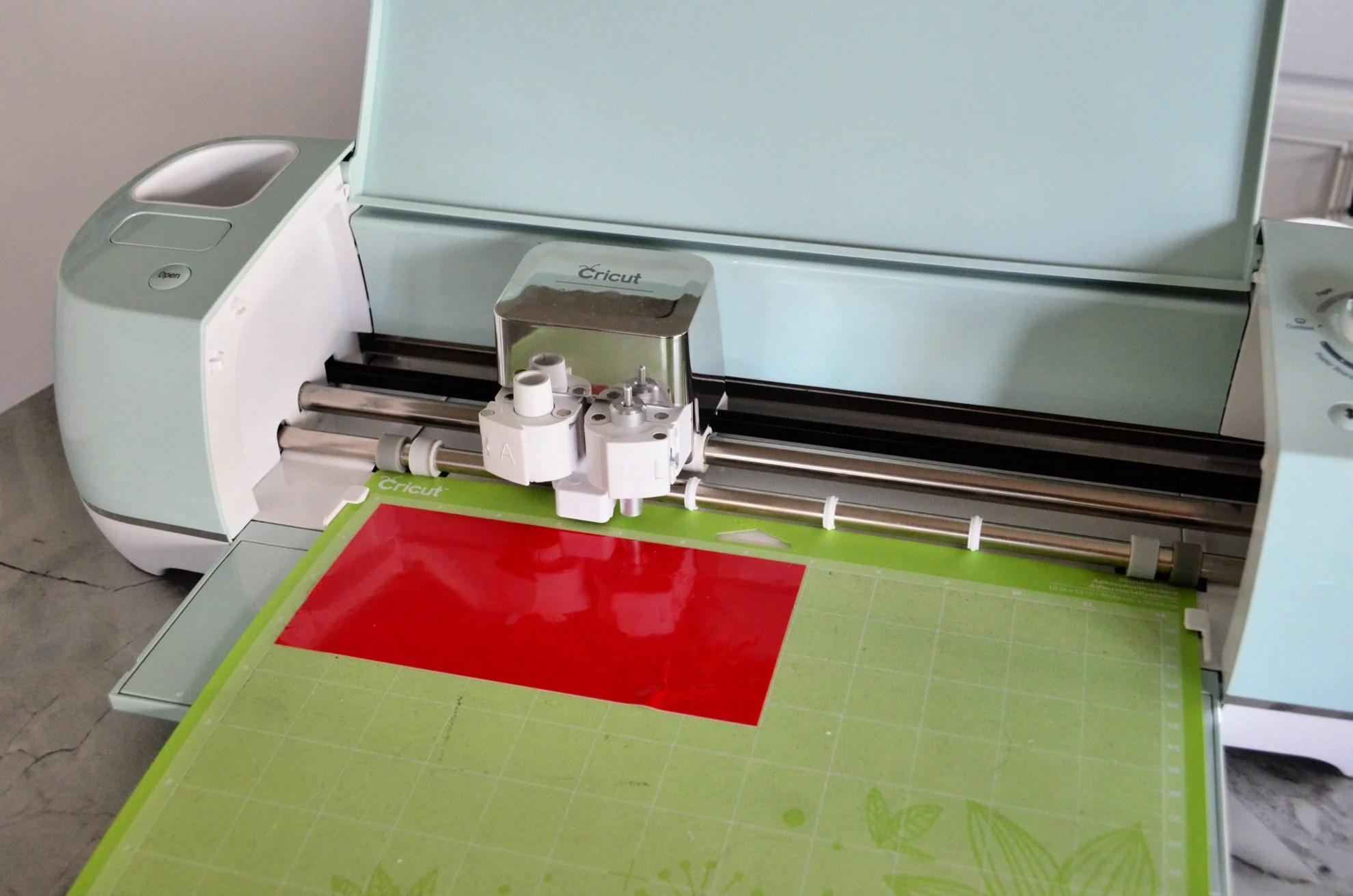 Cricut Explore Air 2 Red Vinyl