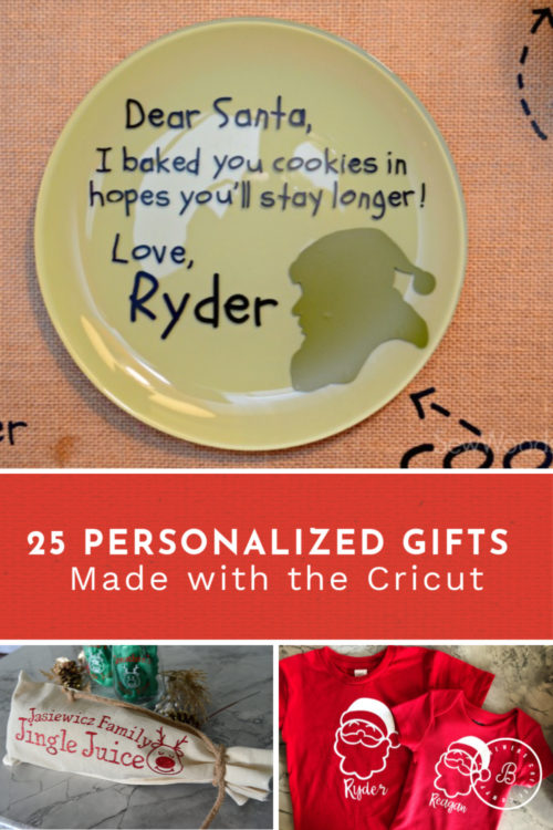 25 Personalized Gifts Made with the Cricut