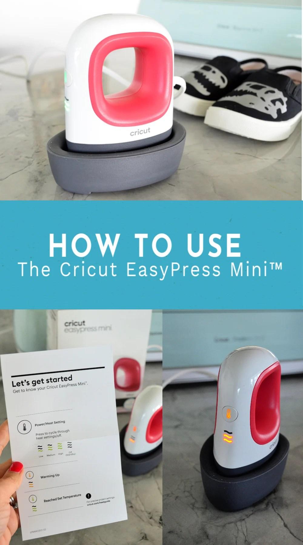 How To Use the Cricut EasyPress Mini™