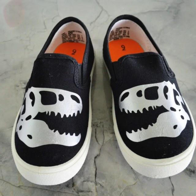 DIY Custom Shoes with the Cricut EasyPress Mini