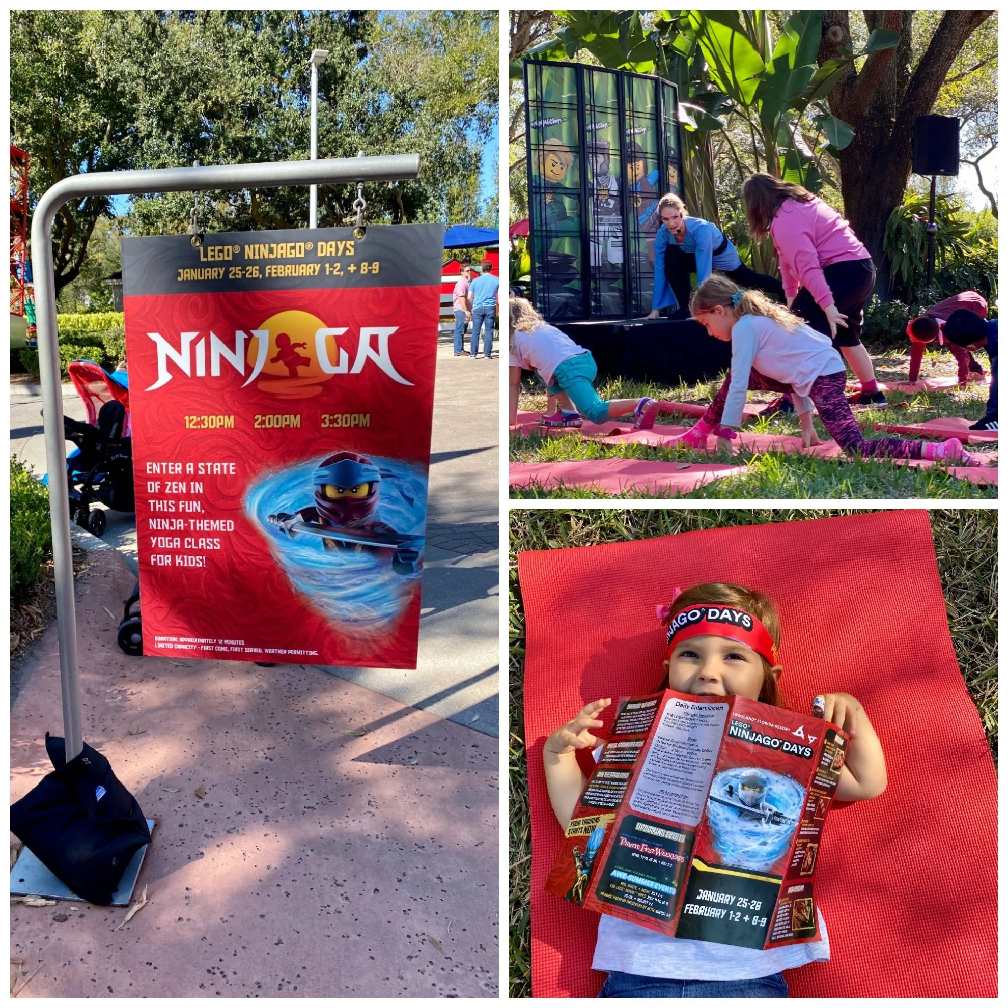 "NINJOGA - Achieve a state of zen or show off your wacky ninja moves during the ""ninjoga"" sessions – a yoga class just for kids!"