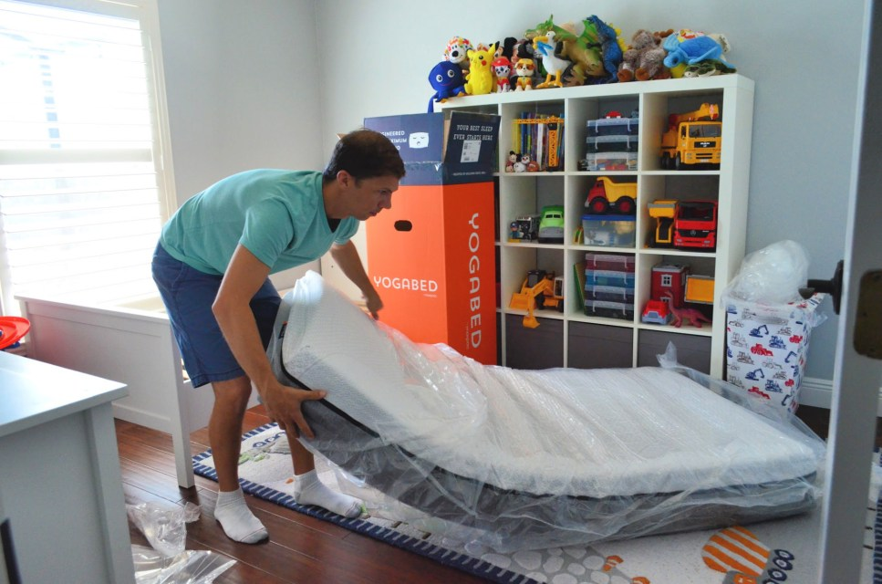 Yogabed Mattress Unboxing