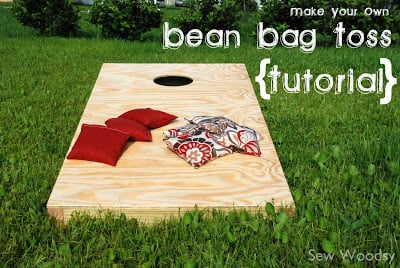 Bean Bag Toss Tutorial Sew Woodsy