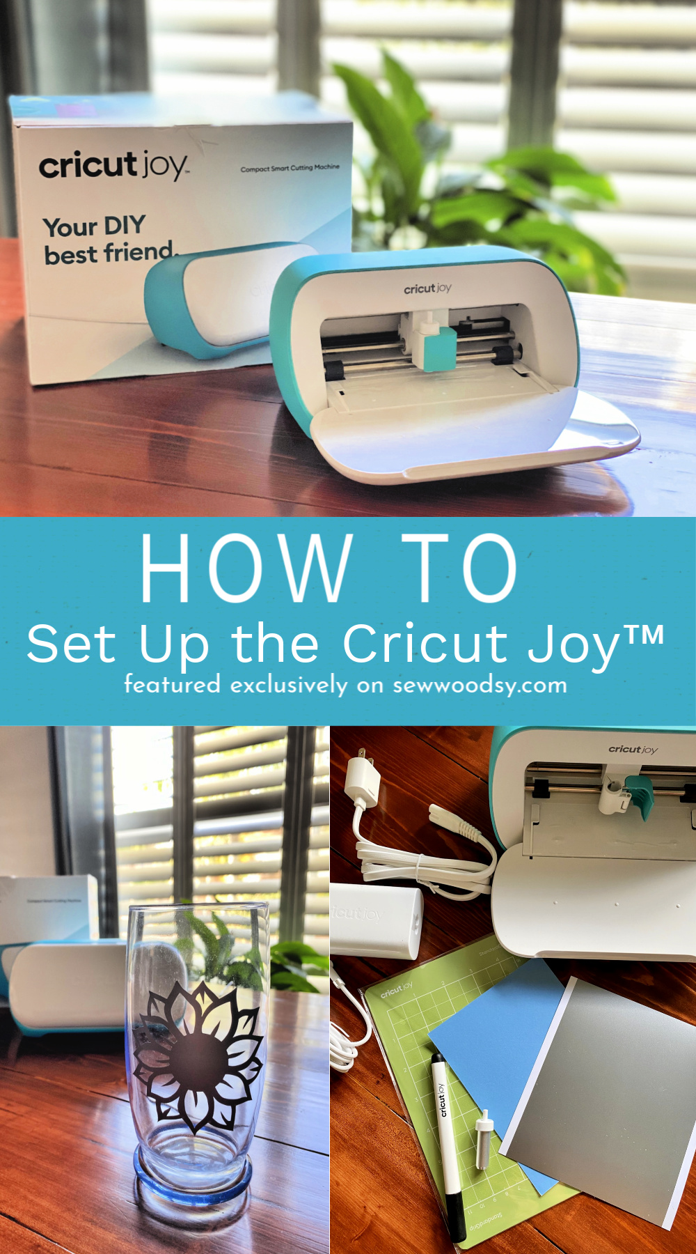 How To Set Up The Cricut Joy collage