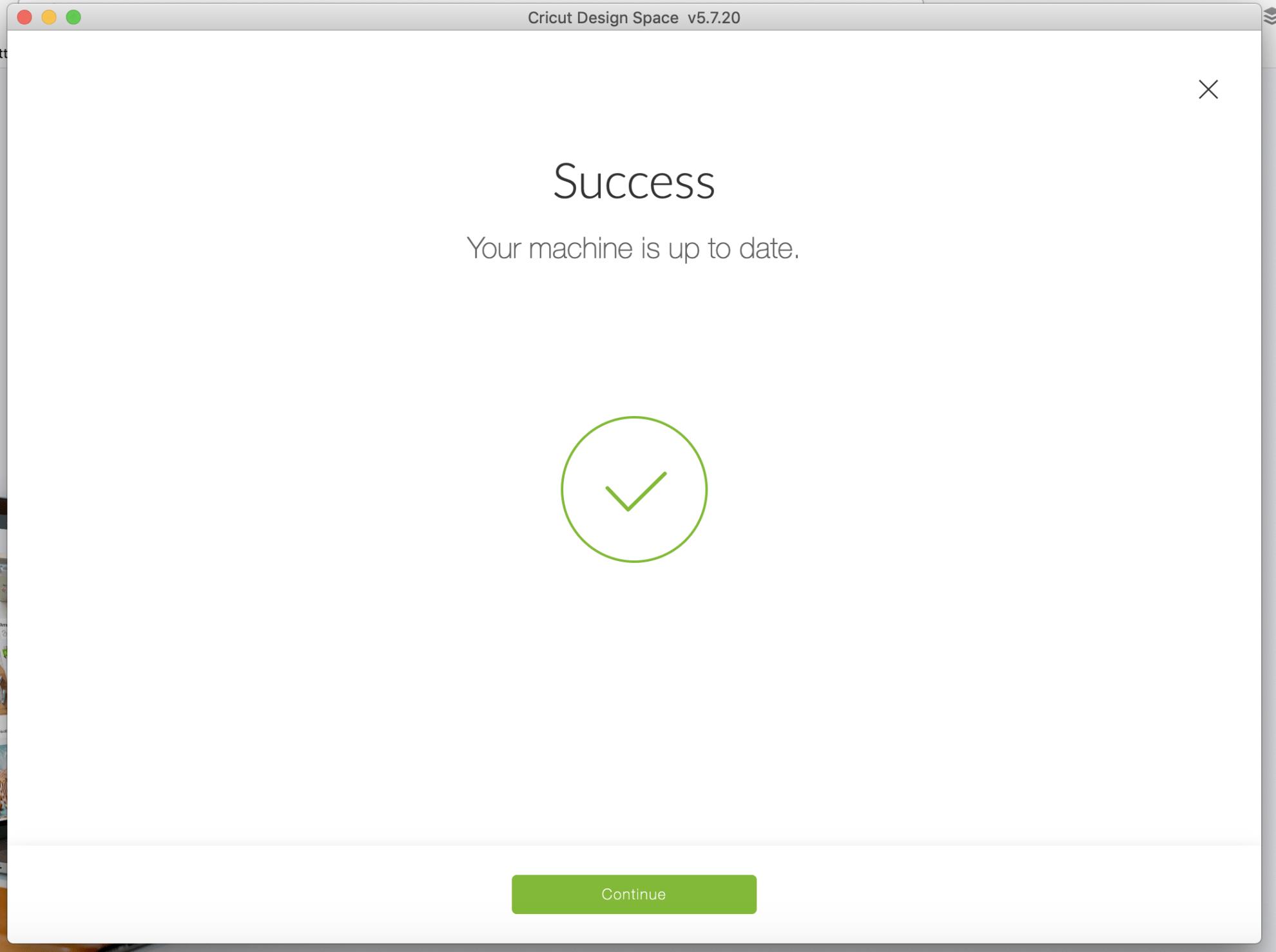 Test Cut Complete! Screenshot