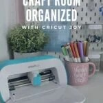 Faded photo of Cricut Joy and supplies with text on image.