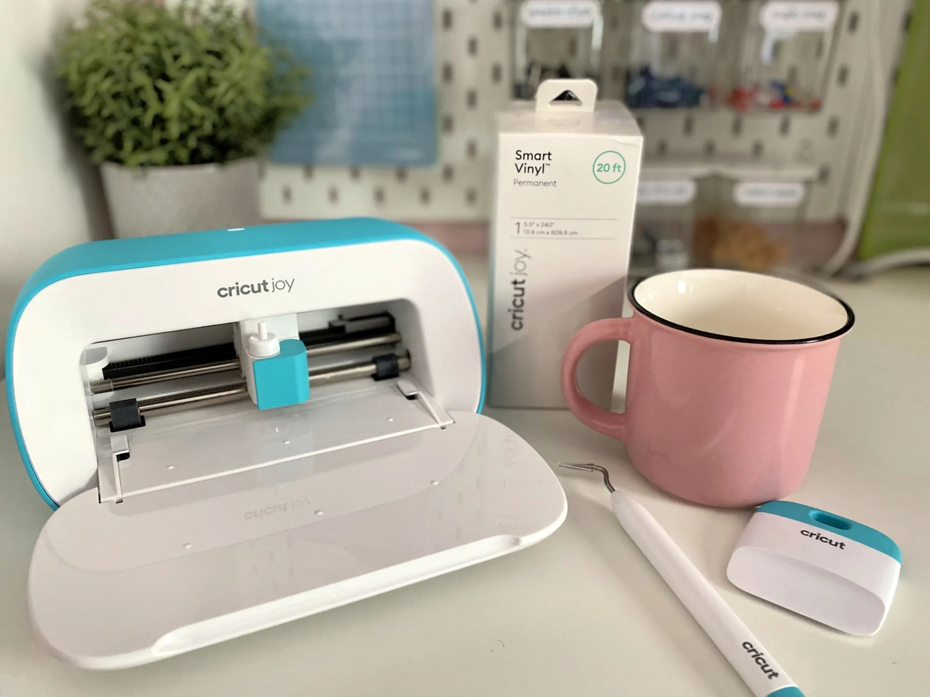 Cricut Joy with Cricut Joy™ Smart Vinyl™, Transfer Tape, and Cricut Joy Tools.