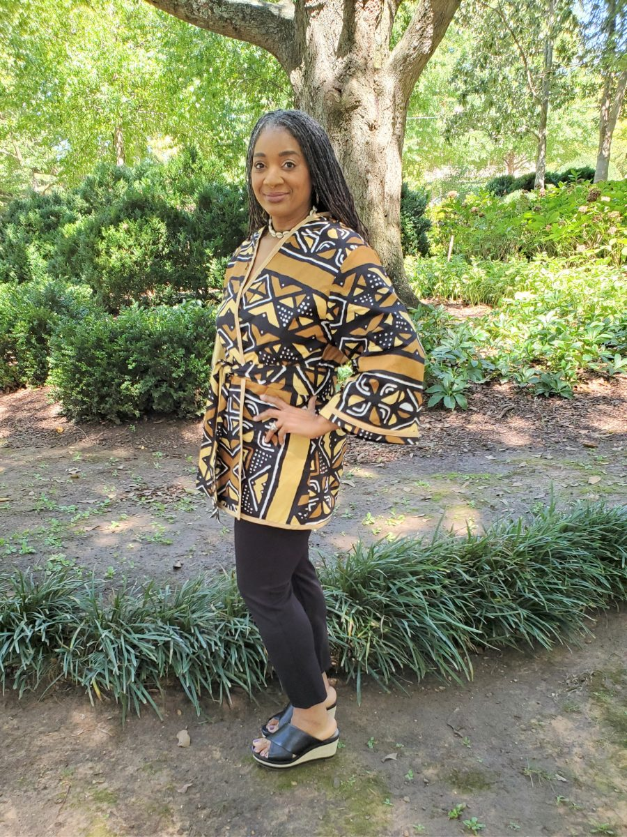 McCalls 7817 African Print Wrap Jacket