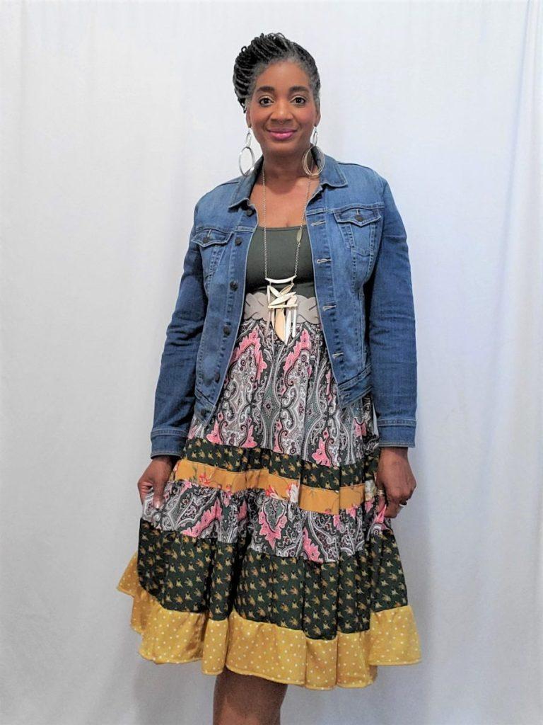 Diy Bohemian Skirt/ www.sewzaizay.com