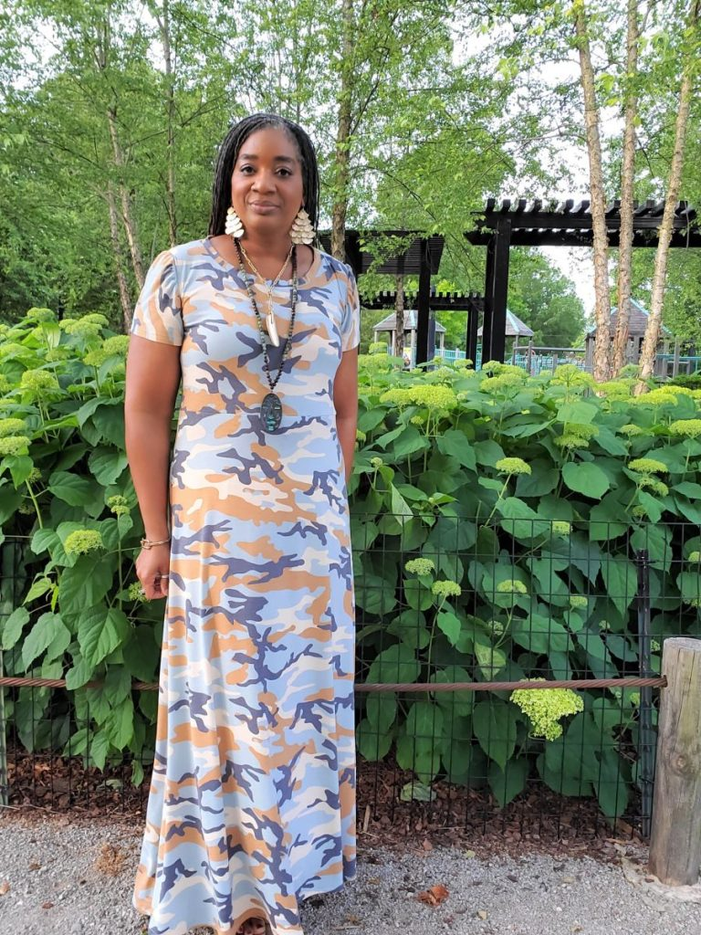 DIY Aline Knit Maxi Dress