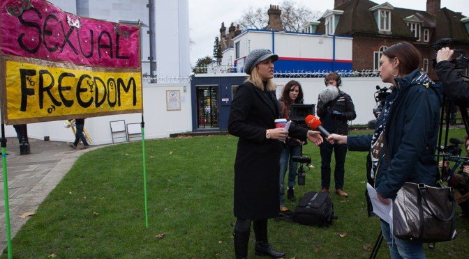 Vid: The London Porn Protest