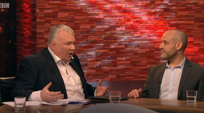 Jerry in Porn Debate on BBC Ulster TV