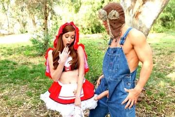 Порно и сексуальные ролевые игры лучшие эротические сценарии. Серый волк трахает красную шапочку в лесу