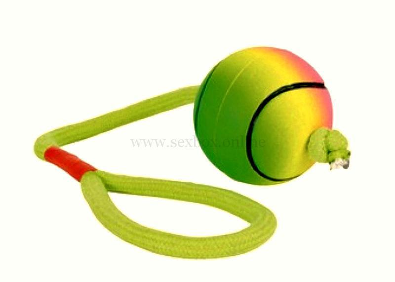 Шар из теннисного мяча