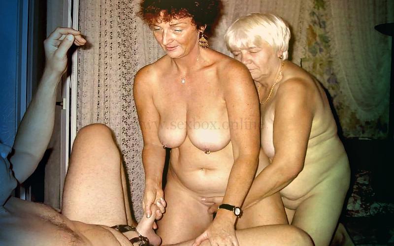 Фото: секс на троих пожилых