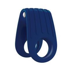 OVO B12 Vibrador Anillo Azul -0