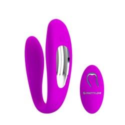 Pretty Love Estimulador de Parejas Color Rosa-10649