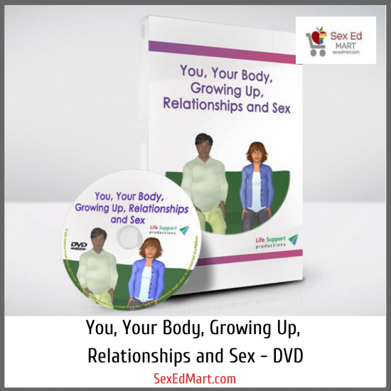 You Your Body Growing Up Relationships and Sex DVD