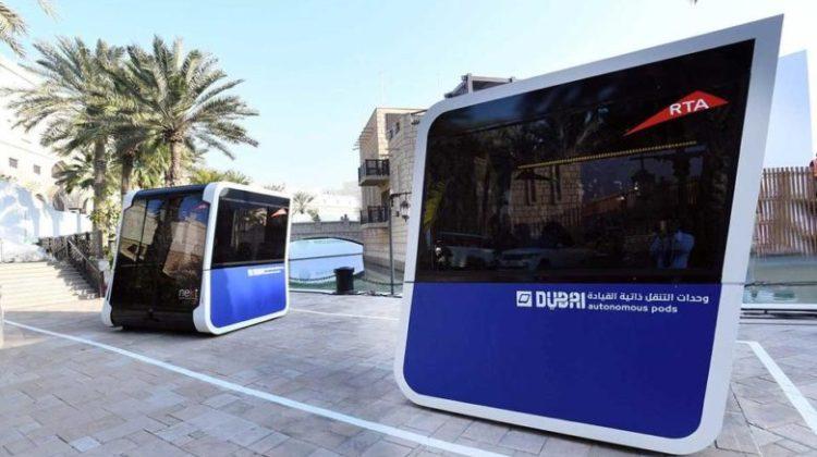 Ηλεκτροκίνητα λεωφορειάκια χωρίς οδηγό στο Ντουμπάι