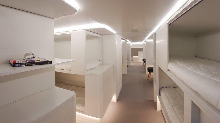 Κουκέτες για τους επιβάτες στα αεροπλάνα της Airbus