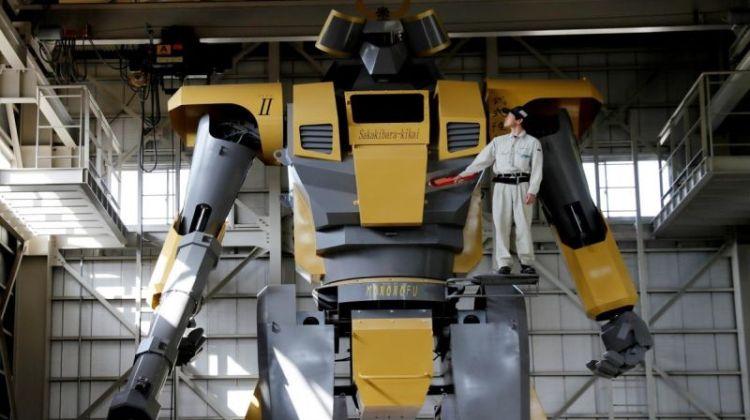 Το γιαπωνέζικο ρομπότ – γίγας που προκαλεί δέος