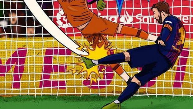 Η La Liga έκανε τον Μέσι ήρωα από καρτούν μετά τη γκολάρα