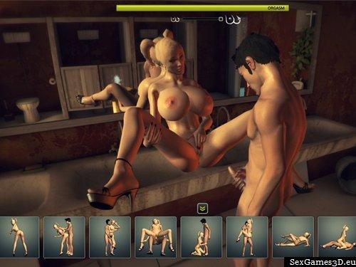Fuck Virtual Blonde Slut Right In A Free 3d Sex Game