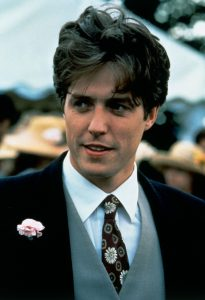 An image from Four Weddings and a Funeral of Charles