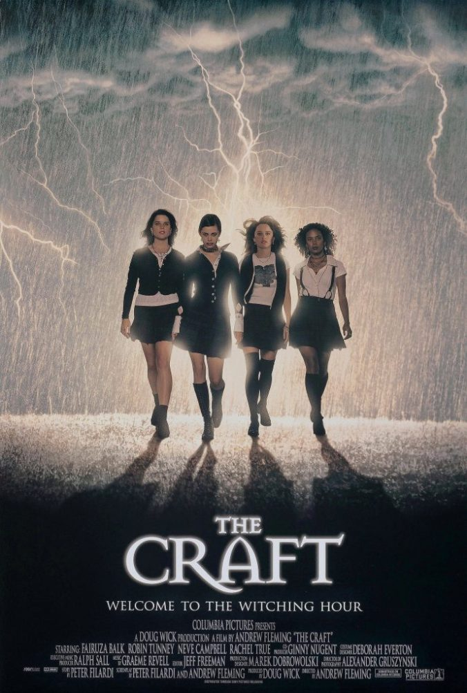 The poster for The Craft