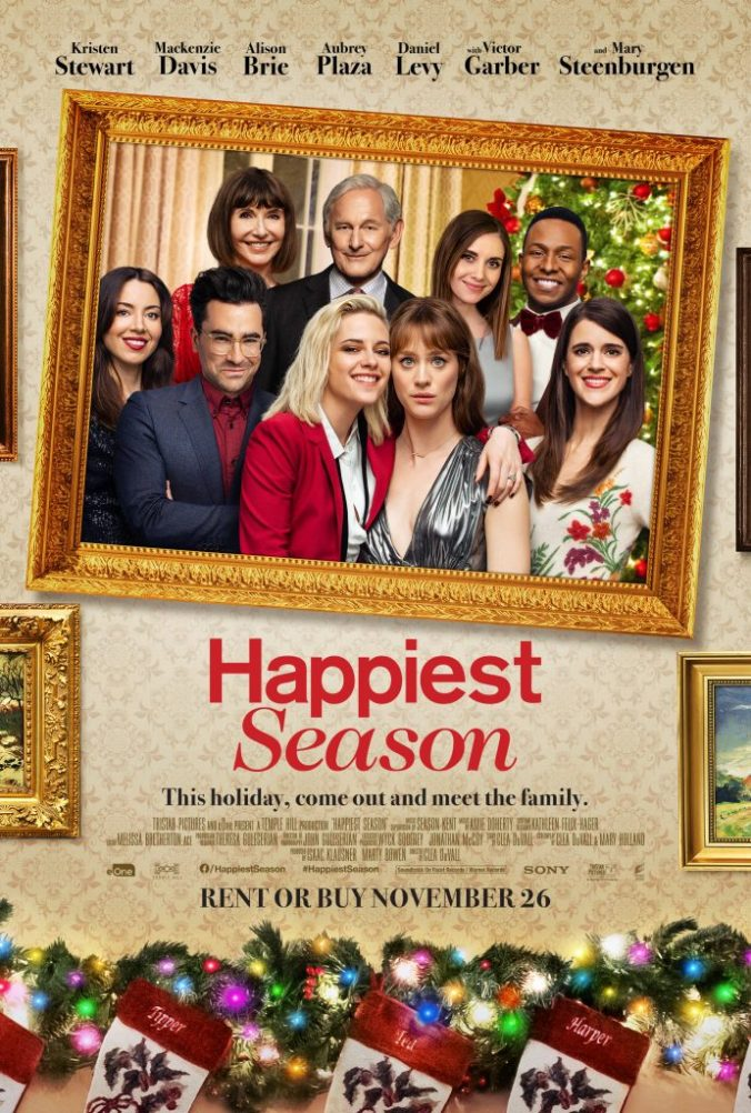 The poster for Happiest Season