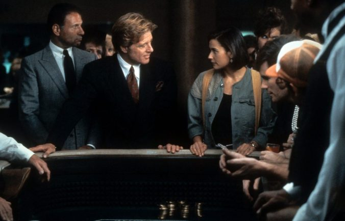 Gage and Diana in the casino