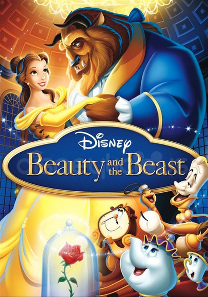 The poster for Beauty and the Beast