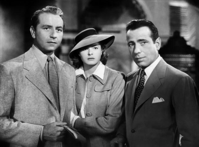 Rick, Ilsa and Laszlo, from Casablanca