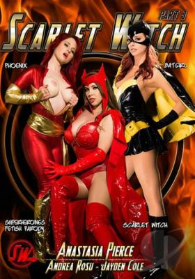 Scarlet Witch 3, Porn DVD, Anatasia Pierce, Andrea Rosu, Jayden Cole, All Girl, Lesbian, Bondage, Cosplay, Domination, Female Domination, Fetish, Parody, Sex Toy Play, Strap-Ons, Superheroines Fetish Parody