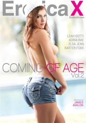 Coming Of Age Vol. 2 (2016) Porn DVD from EroticaX