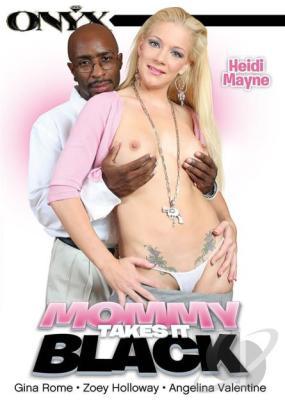 Mommy Takes It Black (2015) Adult XXX DVD