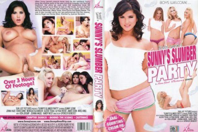 Sunnys Slumber Party Porn Video