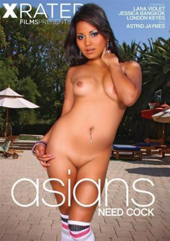 X Rated Films, London Keyes, Jessica Bangkok, Lana Violet, Astrid Jaymes, Interracial, Asian, Asians Need Cock, Asians need cock - asian pornfilm 2016