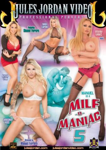 Manuel Is A MILF-O-Maniac 5, porn dvd 2016, Jules Jordan Video, Manuel Ferrara, Jarushka Ross, Nikki Capone, Briana Banks, Alyssa Lynn, Big Cocks, Gonzo, Mature, MILF, Star showcase, Manuel-is-a-milf-o-maniac-5-sexofilm-2016