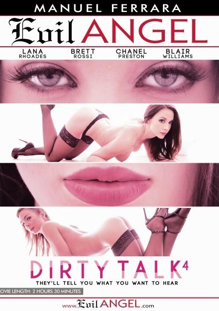 Dirty Talk 4, Porn DVD, Evil Angel, Manuel Ferrara, Blair Williams, Brett Rossi, Chanel Preston, Lana Rhoades, Manuel Ferrara, Anal, Ass to mouth, Big Dick, Big Tits, Blonde, Blowjob, Brunette, Bubble Butt, College, Cumshot, Dirty-talk-4-2016-full-free-hd-xxx-dvd
