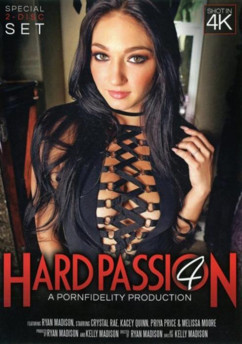 Hard Passion 4, Porn DVD, Porn Fidelity, Ryan Madison, Crystal Rae, Kacey Quinn, Priya Price, Melissa Moore, Big Cocks, Domination, Fetish, Star showcase