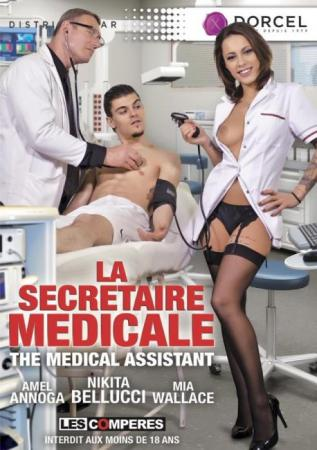 La Secretaire Medicale, 2017 Porn DVD, Marc Dorcel, Nikita Bellucci, Amel Annoga, Mia Wallace, Anal, Big Boobs, Blowjobs, Cumshots, French